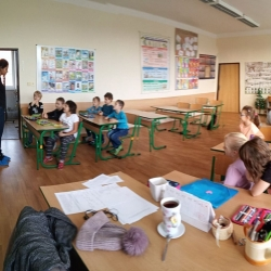 ŠD- Projektový den s rodilým mluvčím