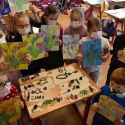 Výtvarné aktivity v 1. třídě