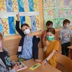 Návštěva budoucích prvňáčků ve škole