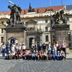 Výlet Praha - 4,.5. ročník